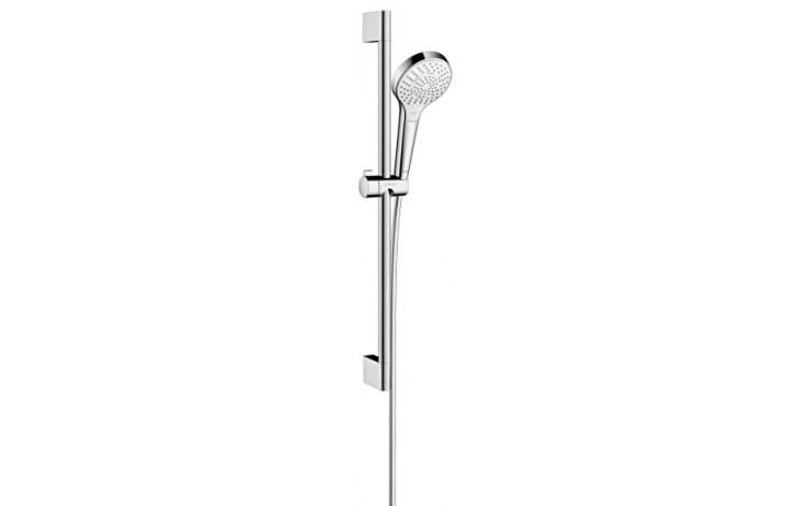 Sprcha sprchový set Hansgrohe Croma Select S Multi l=650 mm bílá-chrom