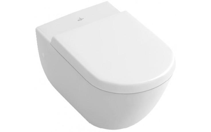 WC závěsné Villeroy & Boch odpad vodorovný Verity Design COMBI PACK (56711001+9M55S901)  Bílá Alpin