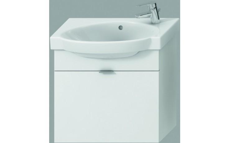 JIKA TIGO skříňka s umyvadlem 620x370x520mm s 1 zásuvkou, bílá 4.5515.5.021.500.1