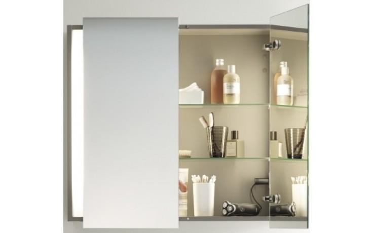 Nábytek zrcadlová skříňka Duravit Ketho 100x75x18 cm bílá matná