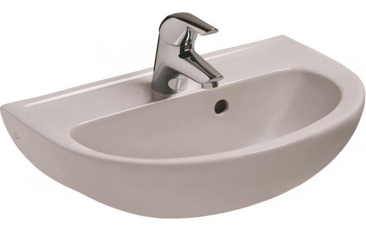 IDEAL STANDARD EUROVIT umývátko 500x350mm s otvorem a přepadem bílá V200101