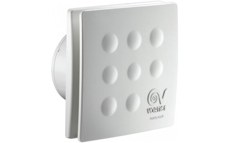 """VORTICE PUNTO FOUR MFO 100/4"""" ventilátor odsávací axiální, s předním panelem, bílá"""
