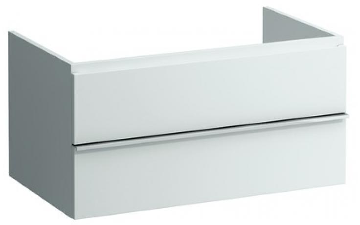 LAUFEN CASE zásuvkový element 895x520x450mm se 2 zásuvkami, se systémem SoftClose, antracitový dub 4.0523.3.075.548.1