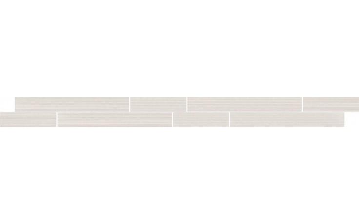 Listela Villeroy & Boch Timeline 5x60cm bílá