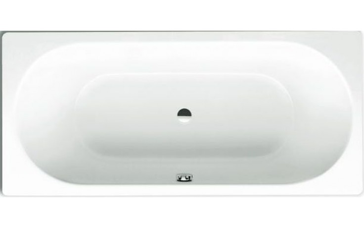 Vana smaltovaná Kaldewei klasická Classic Duo 103 perl effekt antislip 160x70x43 cm bílá