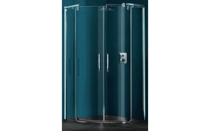 Zástěna sprchová pětiúhelník Huppe sklo Refresh pure 900x900x1943 mm stříbrná lesklá/čiré AP