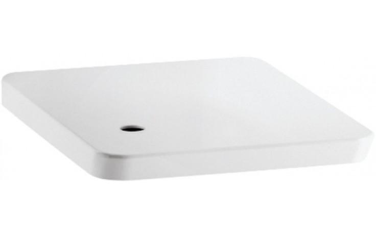 Sedátko WC Laufen duraplastové s kov. panty Alessi dOt  bílá