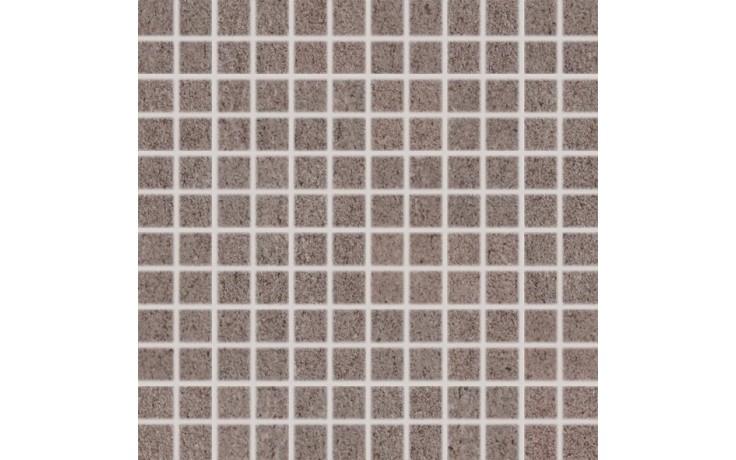 RAKO UNISTONE mozaika 2,5x2,5cm šedo-hnědá DDM0U612