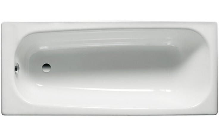Vana smaltovaná Roca klasická Contesa 160x70 cm bílá