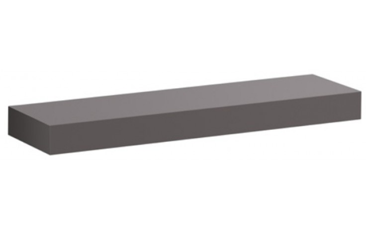 KERAMAG ICON polička 90cm platinová lesklá 840992000