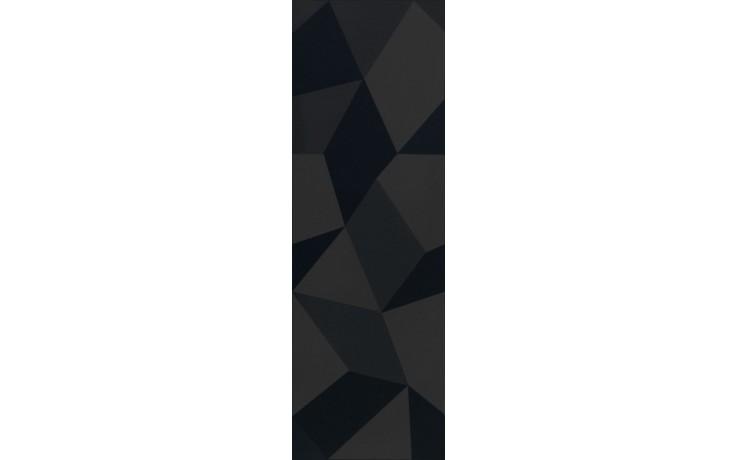 Obklad Villeroy & Boch Bianco Nero 1310/BW92 30x90 cm černá/dekor