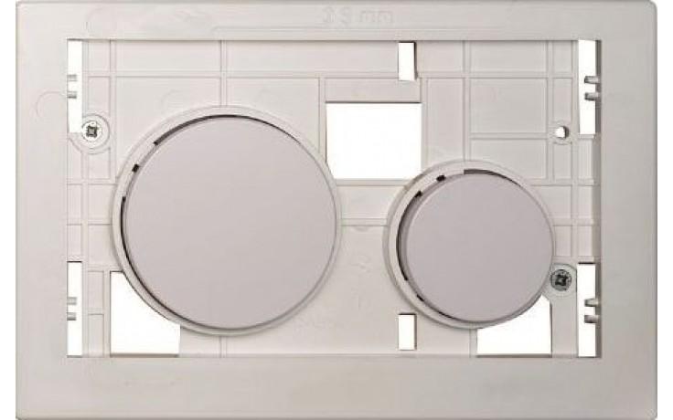 TECE LOOP tlačítková deska 208x136mm, pro kryty, bílá