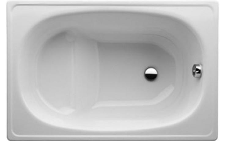 Vana smaltovaná Jika sedací Riga-Mini 105x70 cm bílá