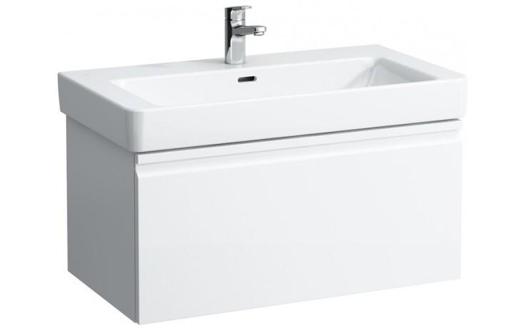 Nábytek skříňka pod umyvadlo Laufen Pro S 8350.1 096 464 85 cm bílá lesklá