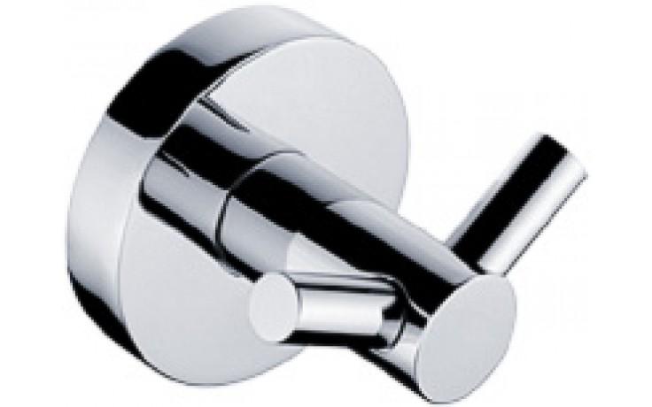 Doplněk háček Nimco Unix dvojitý 5,5x5,5 cm chrom