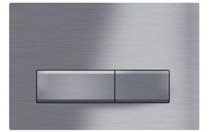 GEBERIT SIGMA 50 ovládací tlačítko 24,6x16,4cm, chrom kartáčovaný 115.788.GH.5