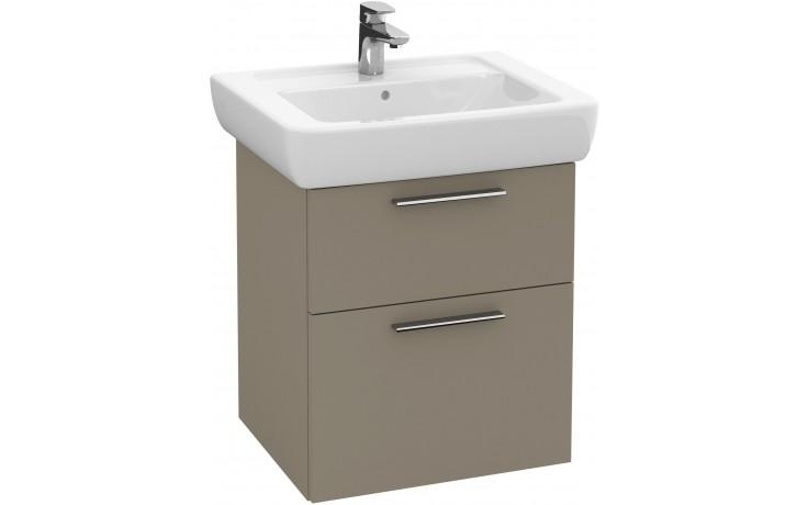 Nábytek skříňka pod umyvadlo Villeroy & Boch Verity Design B01800PN 450x575x390 mm jilm světlý