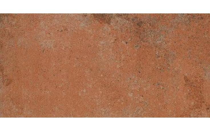 Dlažba Rako Siena 22,5x45 cm červenohnědá