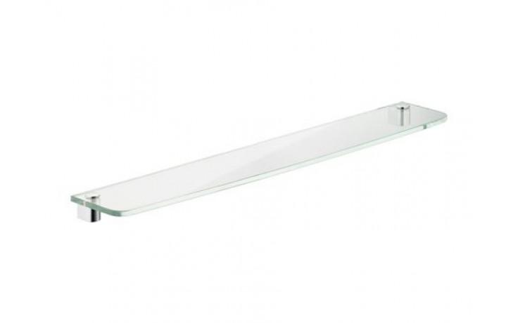 Doplněk polička Keuco Elegance 11610009300 samostatná deska 36x13,1cm křišťálové sklo