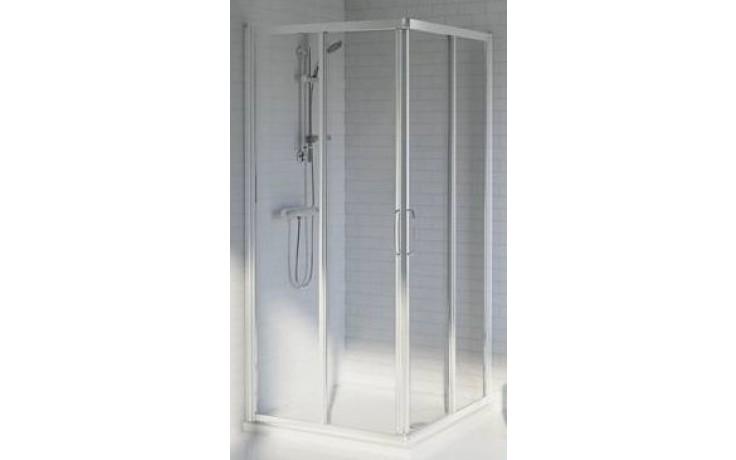 IDEAL STANDARD TIPICA sprchový kout 90x90cm čtverec, silver brill/satinovaný plast T2359YB