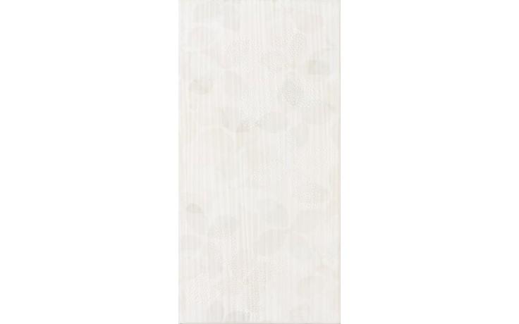 Dekor Rako Amapola 20x40 cm bílá