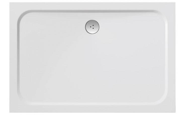 RAVAK GIGANT PRO CHROME sprchová vanička 1200x800mm z litého mramoru, extra plochá, obdélníková, bílá XA04G401010