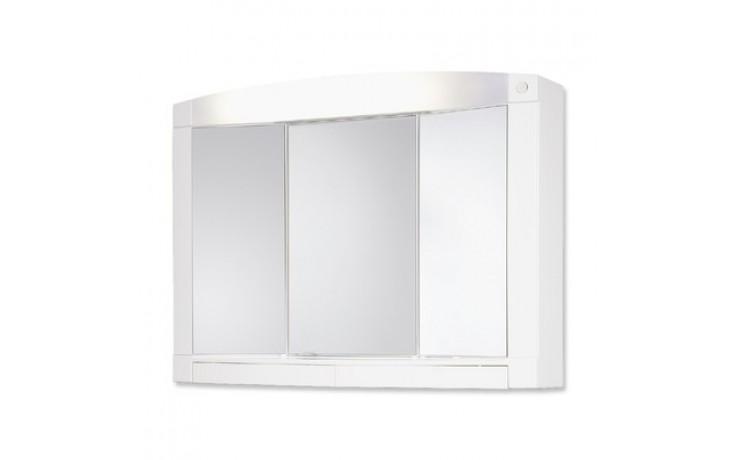 Nábytek zrcadlová skříňka Jokey Swing 76x58x18 cm bílá