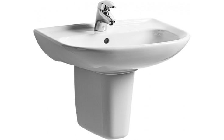 EASY umyvadlo 550x420mm s otvorem, bílá