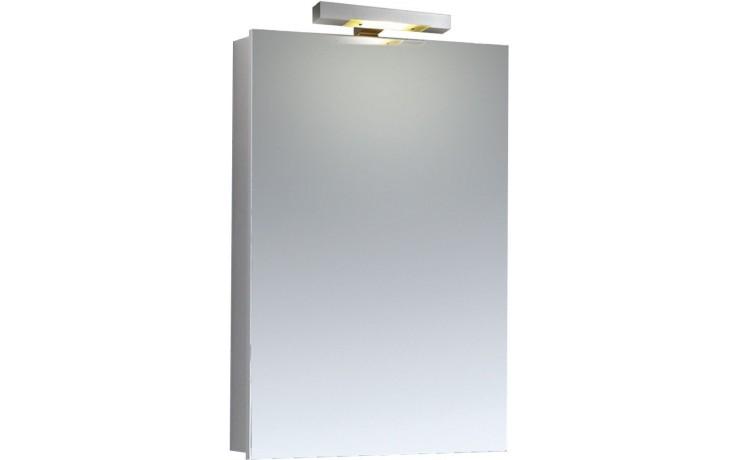 CONCEPT 100 zrcadlová skříňka 58x15x80cm s osvětlením, bílá