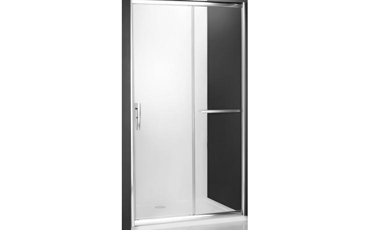 ROLTECHNIK PROXIMA LINE PXD2N/1400 sprchové dveře 1400x2000mm posuvné pro instalaci do niky, rámové, brillant/satinato