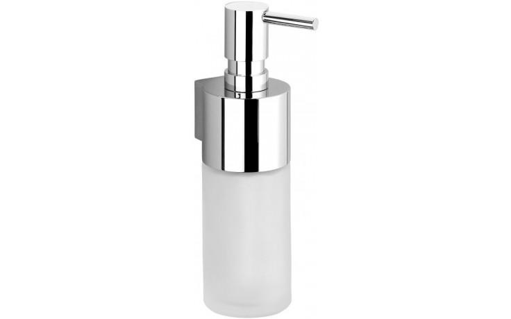 DORNBRACHT TARA dávkovač 250ml, tekutého mýdla, nástěnný, křištálové sklo