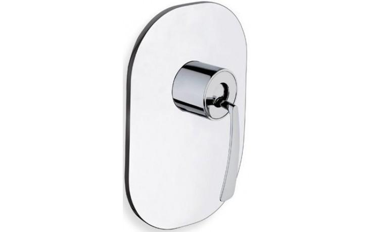 CRISTINA BOLLICINE sprchová baterie podomítková páková vrchní díl, chrom