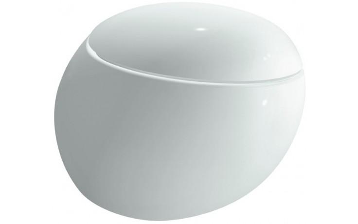 LAUFEN IL BAGNO ALESSI ONE závěsné WC 390x585mm hluboké splachování, bílá LCC 8.2097.6.400.000.1