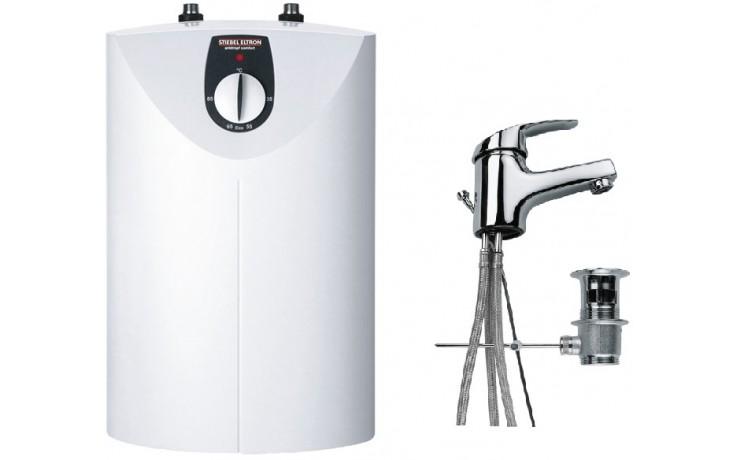 STIEBEL ELTRON set SNU 5 SL zásobník vody 5l, beztlaký, bílá  MAE-W umyvadlová armatura