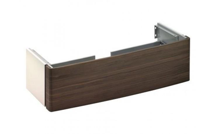 Nábytek skříňka pod umyvadlo Keuco Elegance 31680363600 130x50,8 cm bílá vysoký lesk