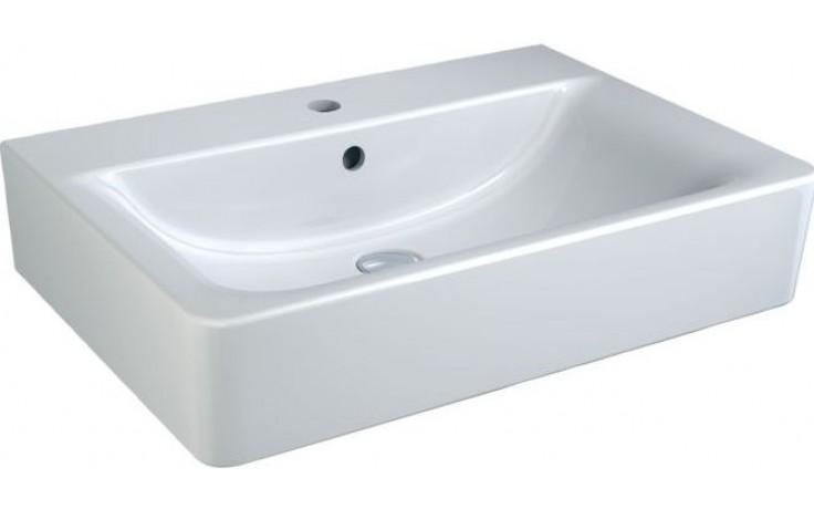 Umyvadlo nábytkové Ideal Standard s otvorem Connect Cube 65x46 cm bílá+IDEAL PLUS
