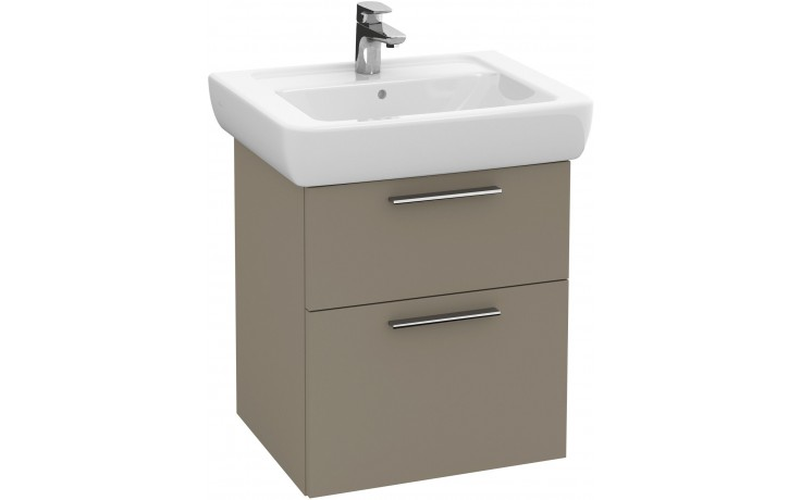 Nábytek skříňka pod umyvadlo Villeroy & Boch Verity Design 450x575x390mm bílá lesk