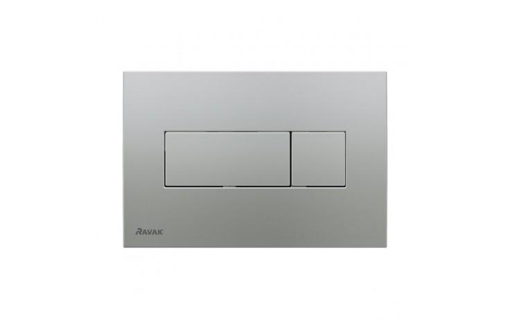 RAVAK CHROME ovládací tlačítka 247x165mm, satin X01454