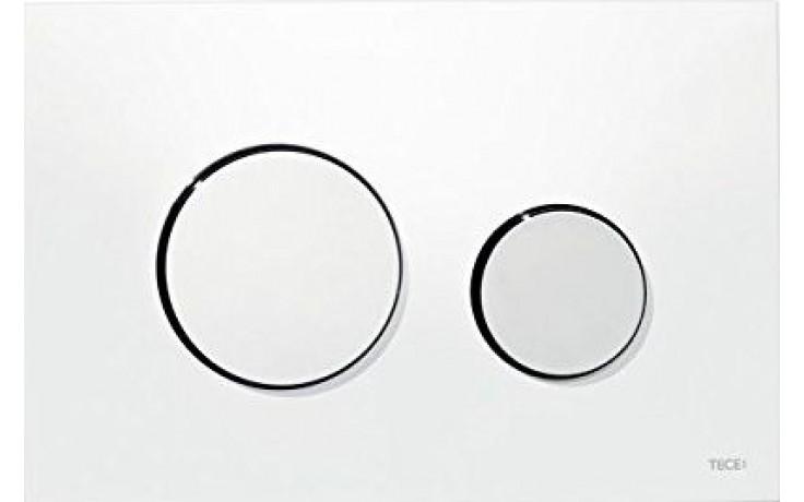 TECE LOOP WG904/RG3 ovládací tlačítko 216x145mm, dvoumnožstevní splachování, bílá/chrom