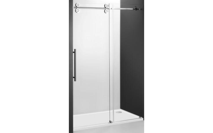 ROLTECHNIK KINEDOOR LINE KID2/1300 sprchové dveře 1300x2000mm posuvné pro instalaci do niky, bezrámové, brillant/transparent