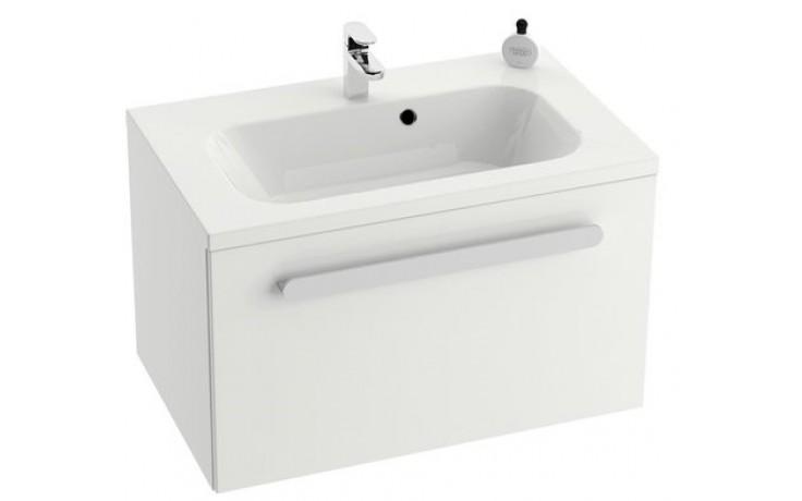 RAVAK CHROME SD 800 skříňka 800x490x470mm pod umývátko, bílá/bílá X000000534