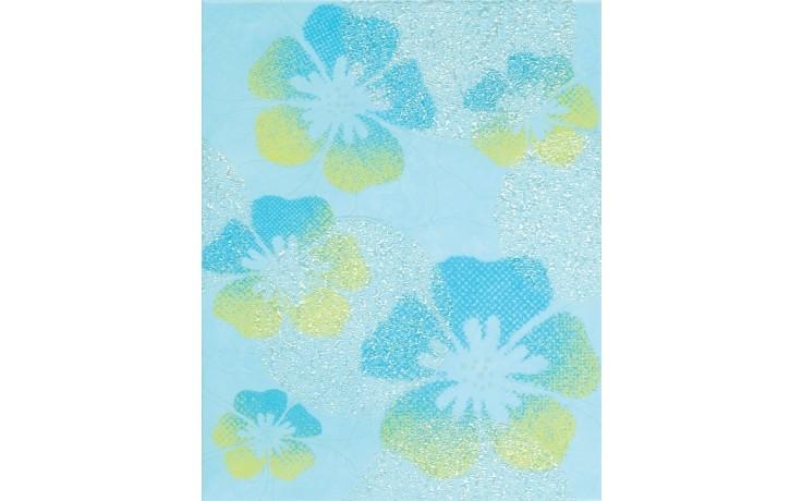Dekor Rako CANDY 20x25 cm modrá-květy