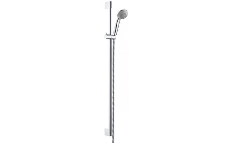 HANSGROHE sada ruční sprcha Crometta 85 Variojet/nástěnná tyč Unica'Crometta chrom 27762000