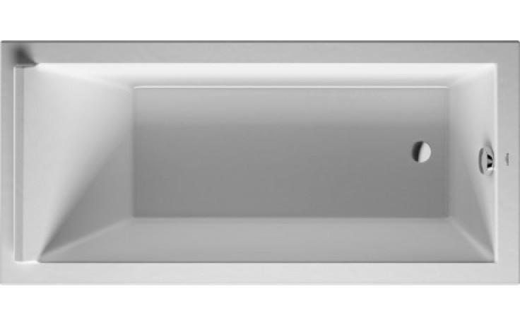 DURAVIT STARCK vana obdélníková 1700x800mm na zabudování, bílá 700336000000000