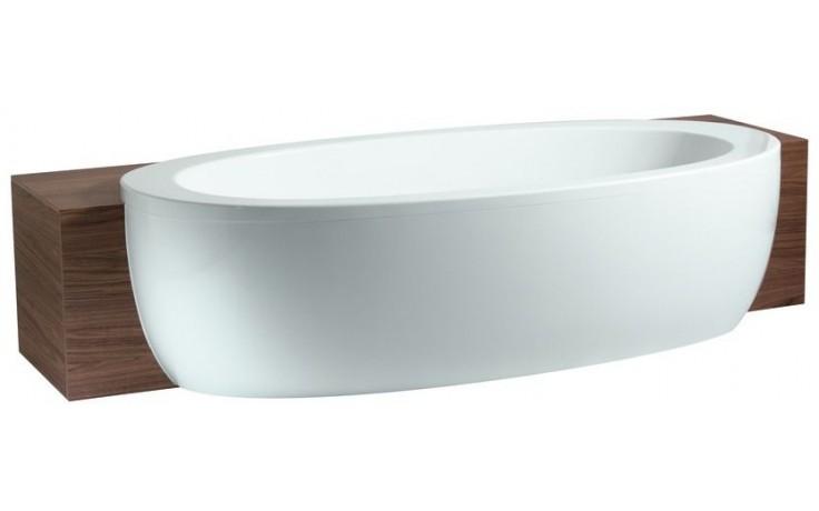 LAUFEN ILBAGNOALESSI ONE polozápustná vana 2030x1095mm, akrylátová, s panelem, bílá