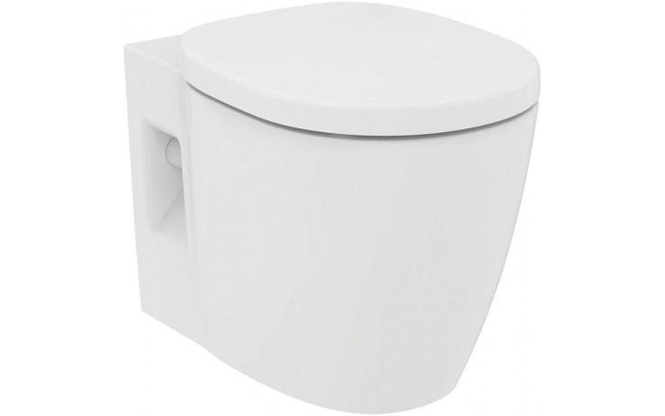 IDEAL STANDARD CONNECT FREEDOM PLUS 6 závěsný klozet 360x540mm vodorovný odpad bílá E607501