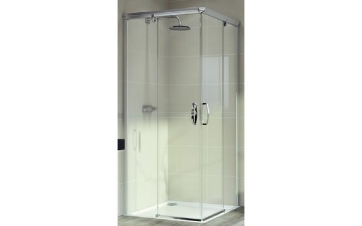 Zástěna sprchová čtverec Huppe sklo Aura elegance 900x1900 mm bílá/čiré AP