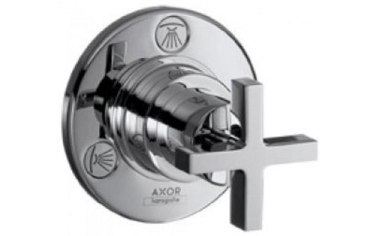 HANSGROHE AXOR CITTERIO TRIO/QUATTRO ventil uzavírací a přepínací podomítkový DN20 chrom 39925000