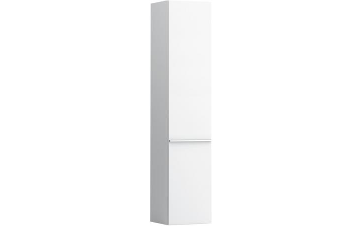 LAUFEN CASE vysoká skříňka 350x335mm 4 skleněné poličky, závěsy vlevo, bílá