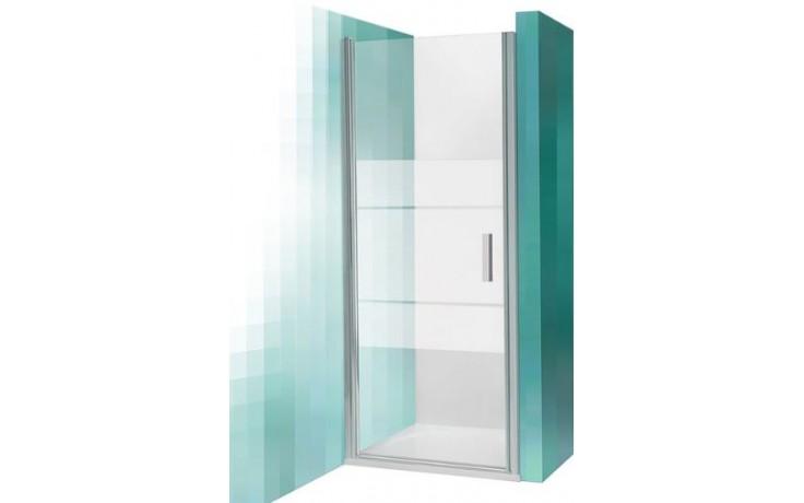 ROLTECHNIK TOWER LINE TCN1/900 sprchové dveře 900x2000mm jednokřídlé, brillant/transparent